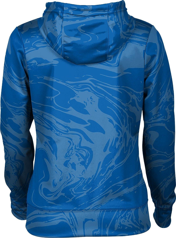 ProSphere Morehead State University Womens Zipper Hoodie Ripple School Spirit Sweatshirt