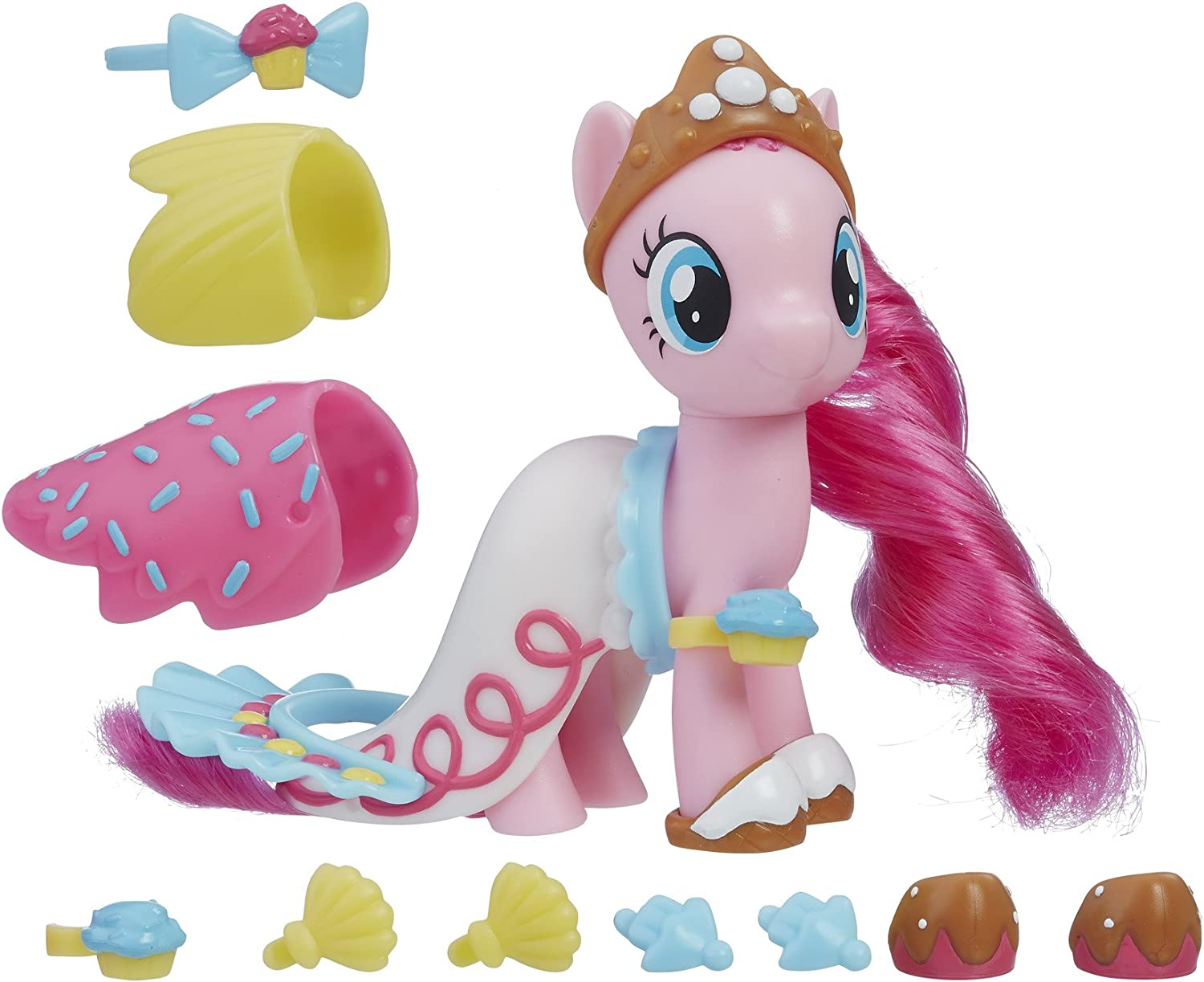 MLP My Little Pony The Movie Pinkie Pie Land and Sea FASHION STYLES