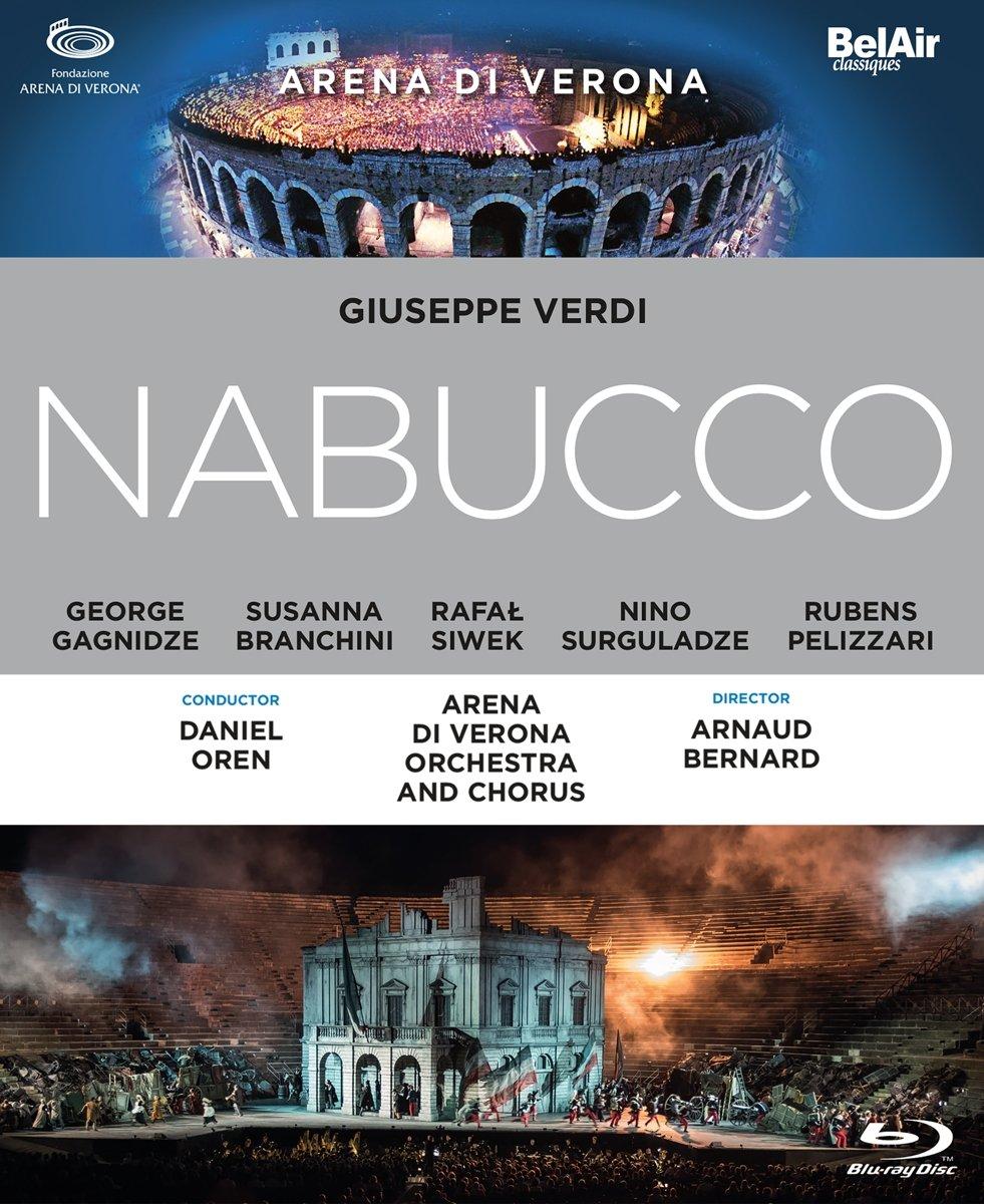Blu-ray : Nabucco (Blu-ray)