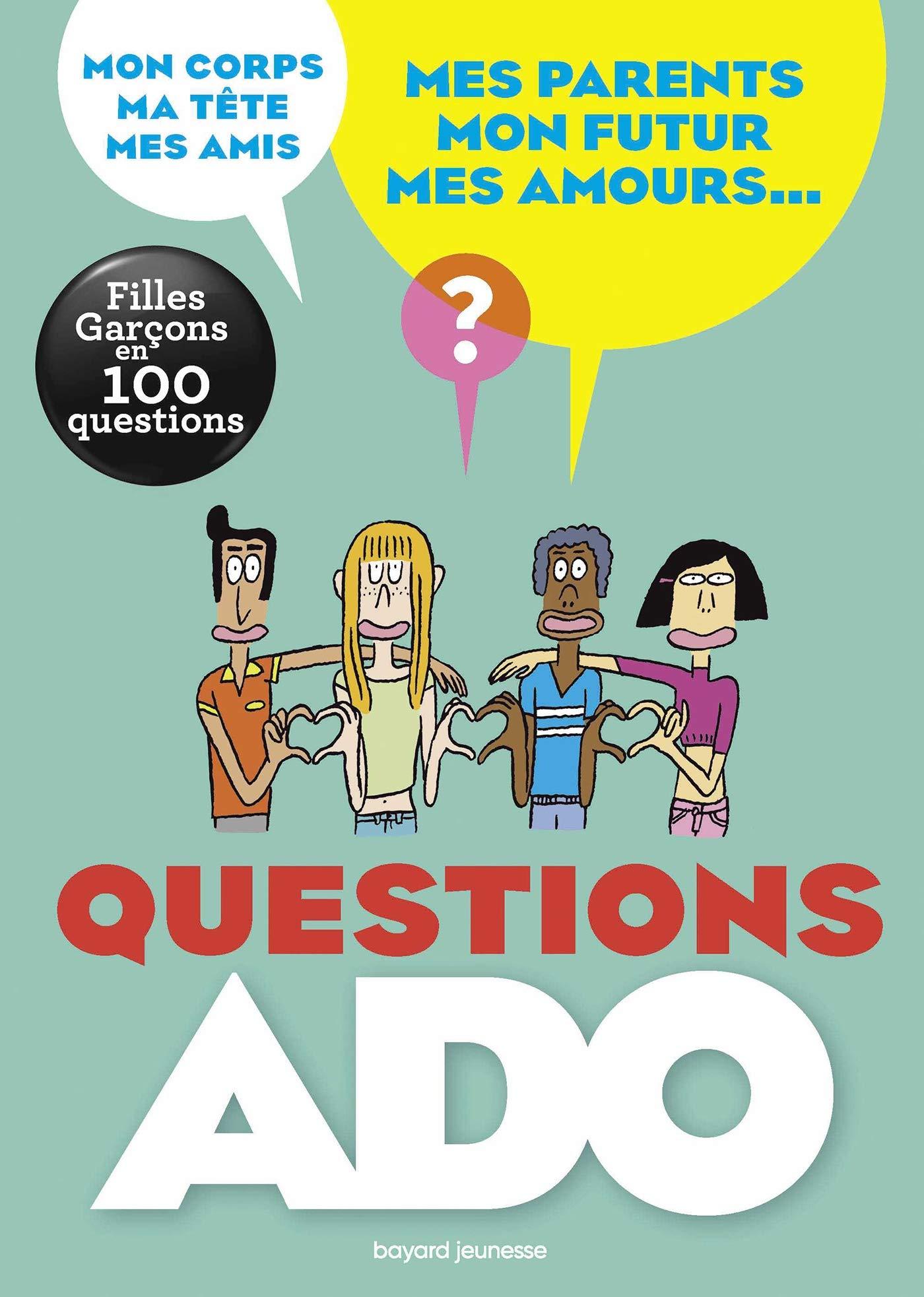 Questions ado filles-garçons en 100 questions Documentaire 12 ans ...
