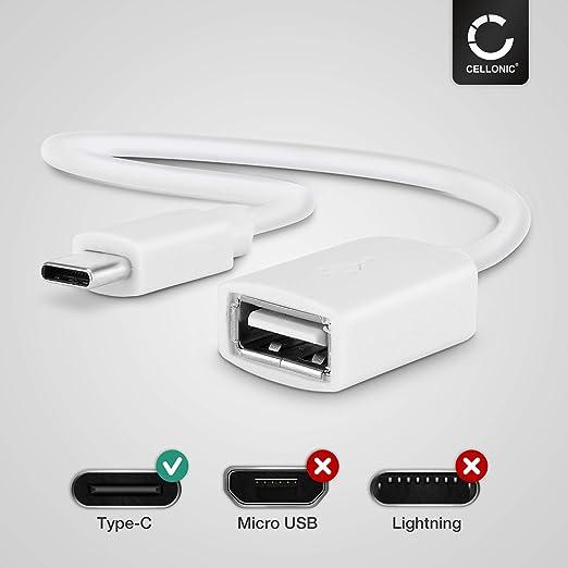 Cavo USB OTG SAMSUNG sm-w720 Galaxy Book 12.0 WIFI NERO OTG Adattatore