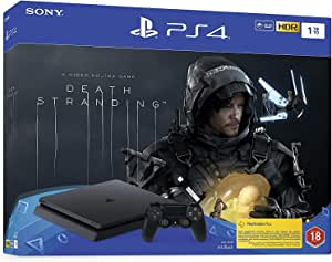 Playstation 4 Slim 1TB Console with Death Stranding Bundle (PS4)- Official UAE Version