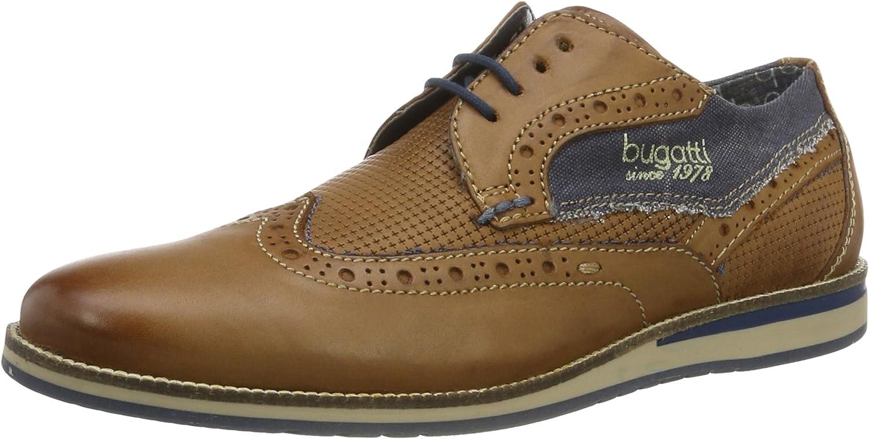 bugatti 311256011000, Zapatos de Cordones Derby para Hombre