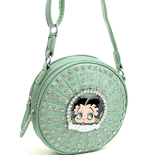 Betty Boop Shoulder Bag Messenger Bag Checkbook Wallet with ... a82f650a21ce6