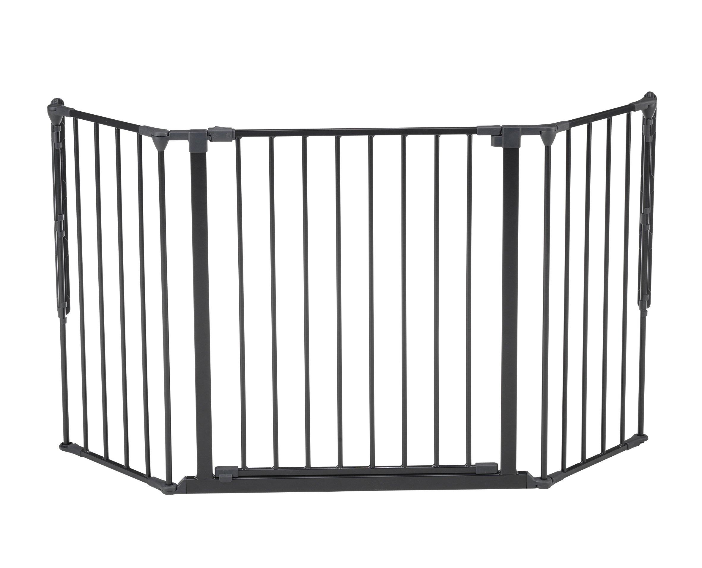 Baby Dan Flex Safety Gates, Black, Medium