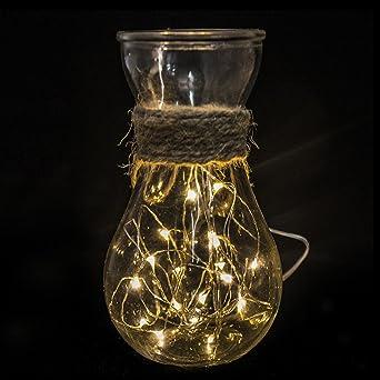 Weihnachtsbeleuchtung Tropfen.Isiyiner 3m 30 Led Llichterkette Warmweiß Draht Lichterkette Leuchtdraht Mit Mini Tropfen Auf Silberdraht Weihnachtsbeleuchtung