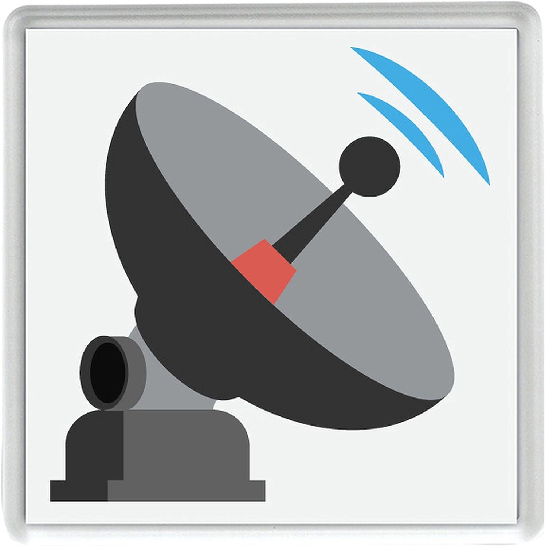 Compra antena satelital Emoji solo 80mm x 80mm Coaster en ...