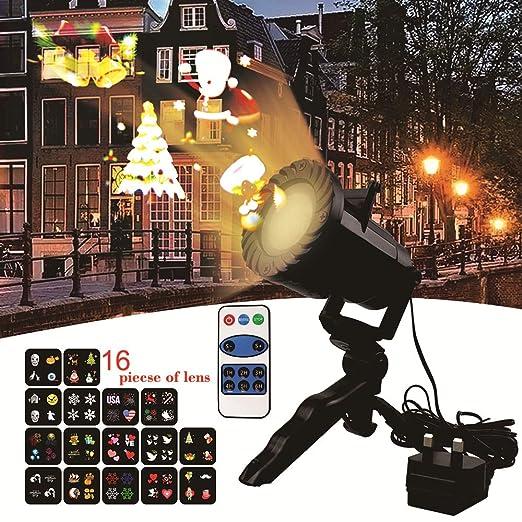Amazon.com: Luz de Halloween proyector, XGZ luces de paisaje ...