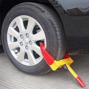 Vivo Heavy Duty rueda Clamp bloqueo coches Remolque Caravana Seguridad Anti Robo bloqueo de coche pinza para nueva Pro DIY Van caravana autocaravana: ...