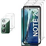 GESMA Screen Protector and Camera Protector Compatible with Samsung Galaxy Note 20 , [3 Screen Protectors+2 Camera…
