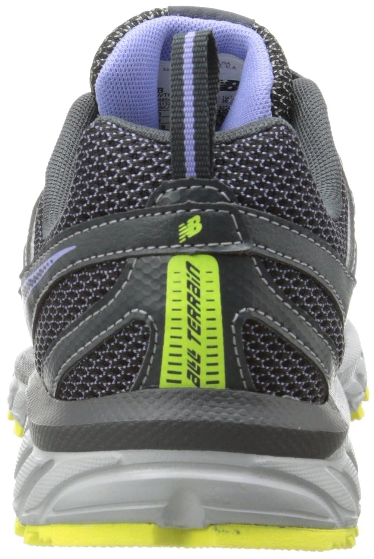 New Balance Women's WT610V4 Trail Shoe B00KJCIUJM 5 D US|Grey/Purple
