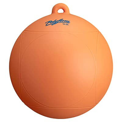 "polyform Orange 96857540 WS Series Water Ski Buoy-8"" x 8.5"": Automotive"