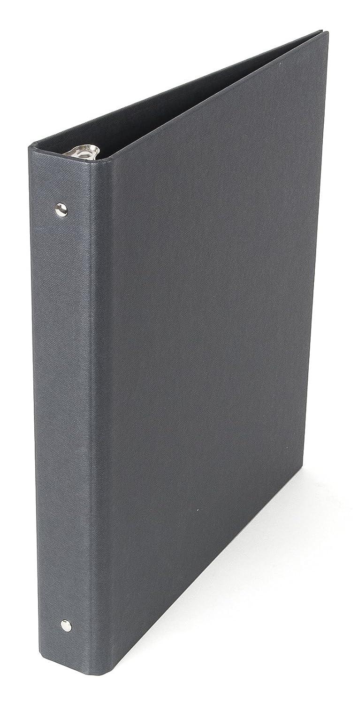 Bigso Ringo 3-Ring Binder, 1-Inch, Dark Gray Bigso AB 7881456