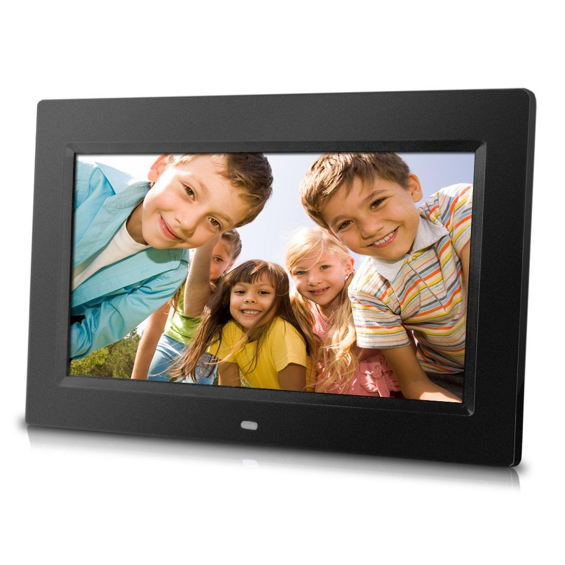 Sungale PF1025 10-Inch Digital Photo Frame with Hi-resolution, various transitional effects, slideshow, interval time adjustment. Simply plug in a SD card or Flash Drive to access & display photos