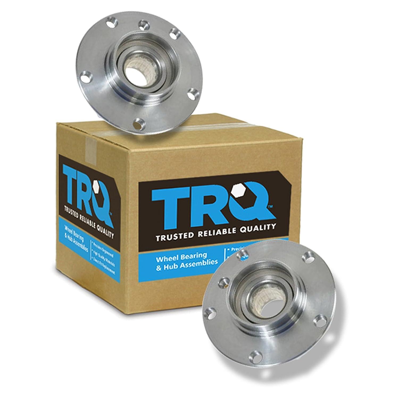 TRQ Wheel Hub & Bearing Front Left LH & Right RH Pair Set for Saab ...
