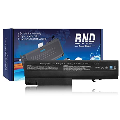 BND Laptop Battery for HP EliteBook 8440P 6930P 8440W / Compaq 6730B 6735B  6530B / ProBook 6440B 6445B 6540B 6545B, fits P/N 482962-001 HSTNN-UB69-12