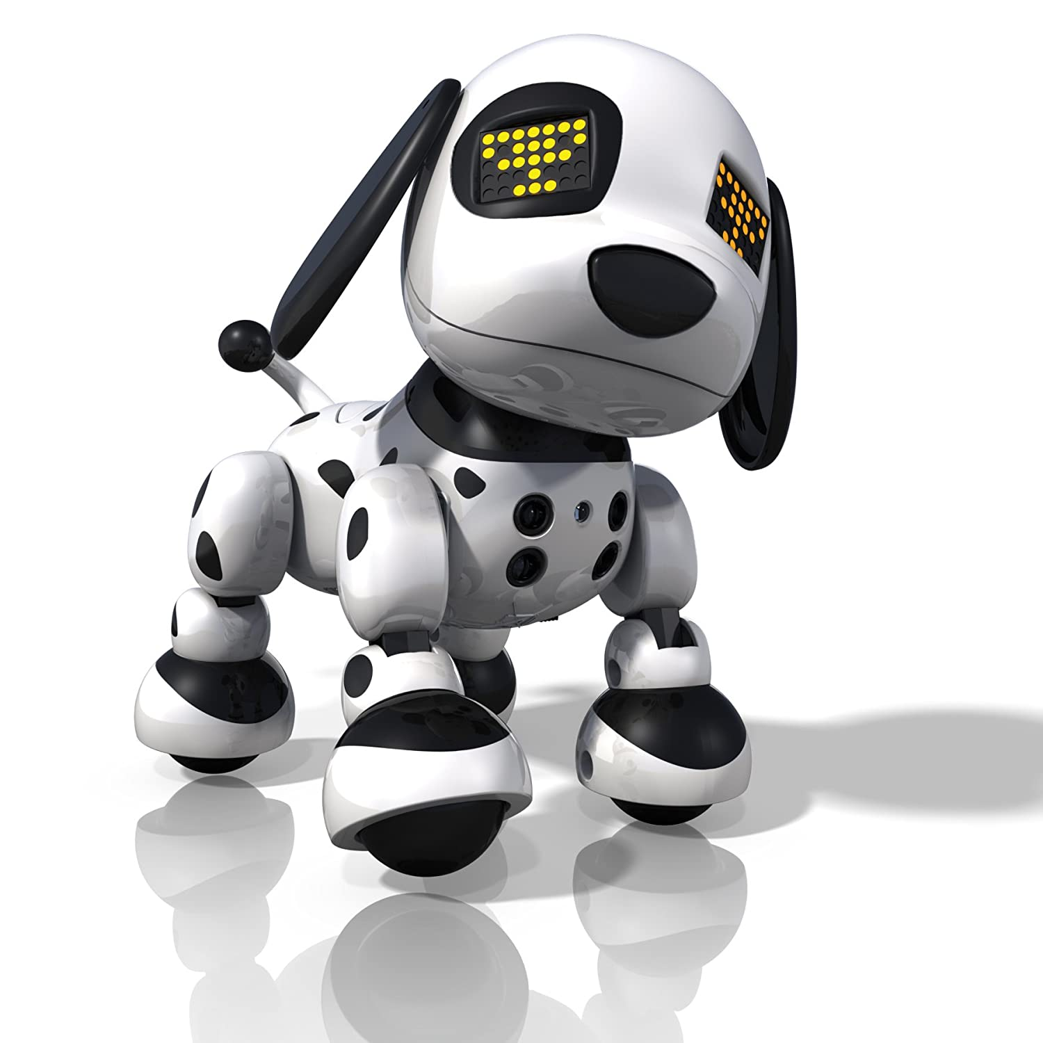 Amazon Com Zoomer Zuppies Interactive Puppy Spot Toys Games