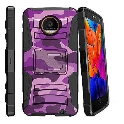 Miniturtle Case For Motorola Moto Z Force Droid Holster Case [Clip  Armor] Advance