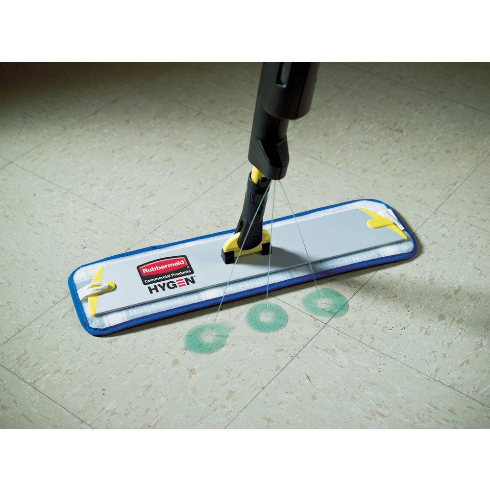 Rubbermaid Commercial 1863885 Executive Series Pulse Microfiber Floor Cleaning System by Rubbermaid Commercial Products Handle with Double-Sided Mop Frame
