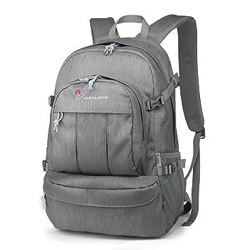 Mountaintop 25L Casual Backpack School Travel Hiking Trekking Daypack  Camping Rucksack a5d45cbd511c5
