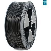 ICE FILAMENTS ICEFIL1PLA103 PLA Filament, 1.75 mm, 2.30 kg, Brave Black