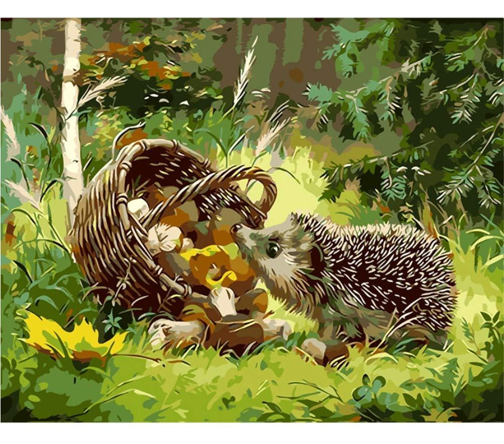 Zxfcczxf Sin Sin Zxfcczxf Marco The Hedgehog Animal Diy Painting By Numbers Kits Colorear Pintura Al Óleo Sobre Lienzo Dibujo Home Artwork Wall Art Picture aabed9