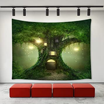 Home & Garden Indian Psychedelic Fairy Angel Tapestry Bedspread Dorm Wall Hanging Dorm Decor