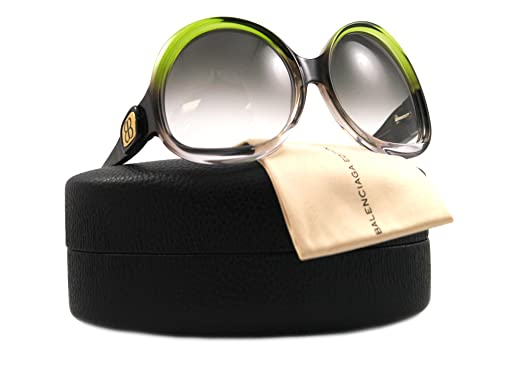 5de0b28473 Amazon.com  Balenciaga BAL 0003 N S HEVYR GREEN Sunglasses BAL3  Balenciaga   Clothing