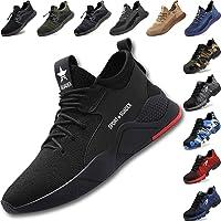 Zapatos de Seguridad para Hombre Mujer Transpirable Ligeras