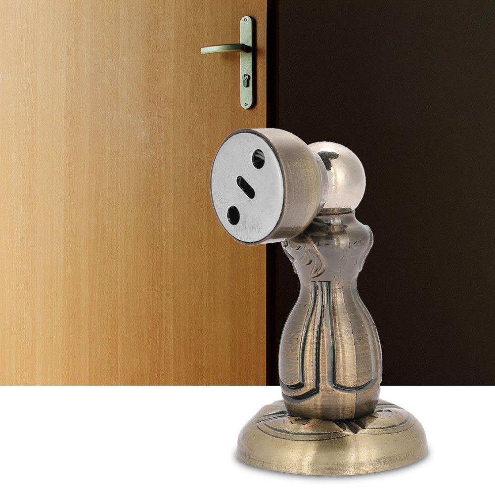 resistente in acciaio INOX placcatura fermaporta Quiet powerful tappo magnetico porta utensili con viti per casa e ufficio Push to Open System Fermaporta