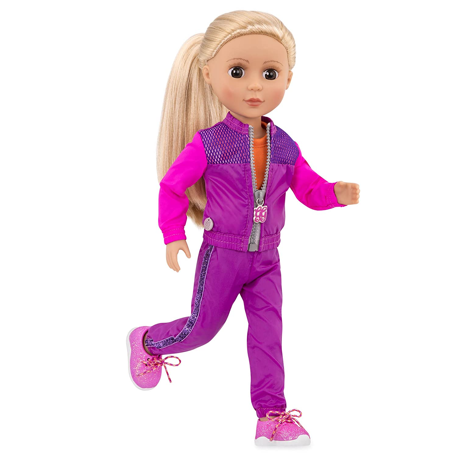 Glitter Girls by Battat - Shine and Dash Outfit -14-inch Doll Clothes– Toys, Clothes and Accessories For Girls 3-Year-Old and Up Branford LTD GG50016Z