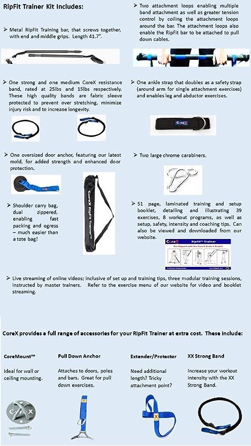 Corex Ripfit Trainer Functional Fitness Stick Amazon Ca Electronics