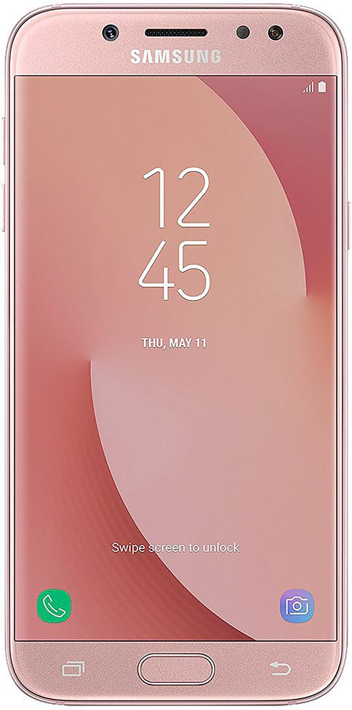 Samsung Galaxy J7 Pro (32GB) J730G/DS - 5.5'' Full HD Dual SIM Unlocked Phone with Finger Print Sensor (US & Latin 4G LTE) (Pink) by Samsung (Image #1)