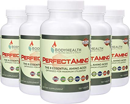 Amazon.com: BodyHealth PerfectAmino Tablets, todos los 8 ...