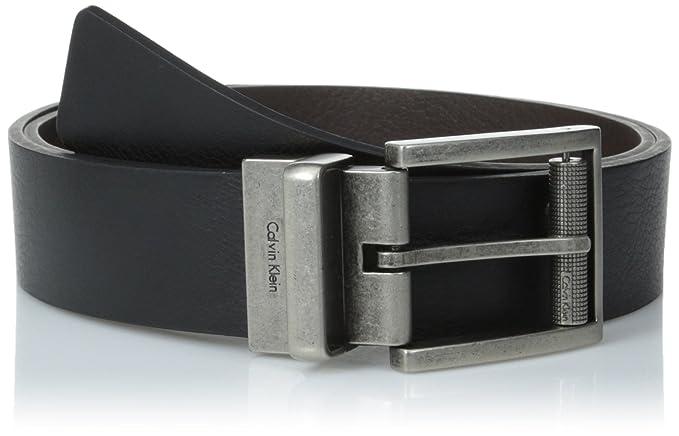 Calvin Klein - Cinturón reversible con hebilla para hombre  Amazon ... dab39ad1d8e2