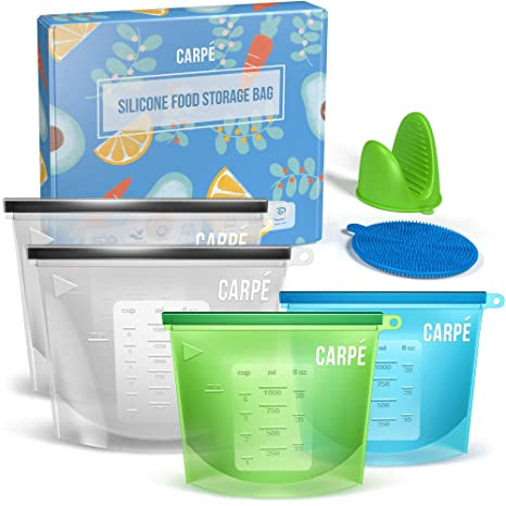 Amazon.com: Carpe - Bolsa de almacenamiento de alimentos de ...