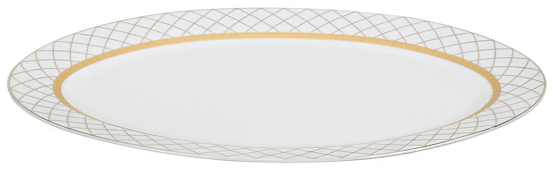 Amazon.com: Lorren Home Trends 57-Piece Porcelain Dinnerware Set ...