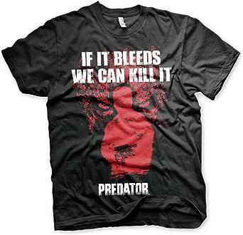 Officially Licensed Predator - If It Bleeds Big & Tall T-Shirt (Black)