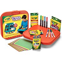 75-Pieces Crayola Create 'n Carry Case Portable Art Tools Kit