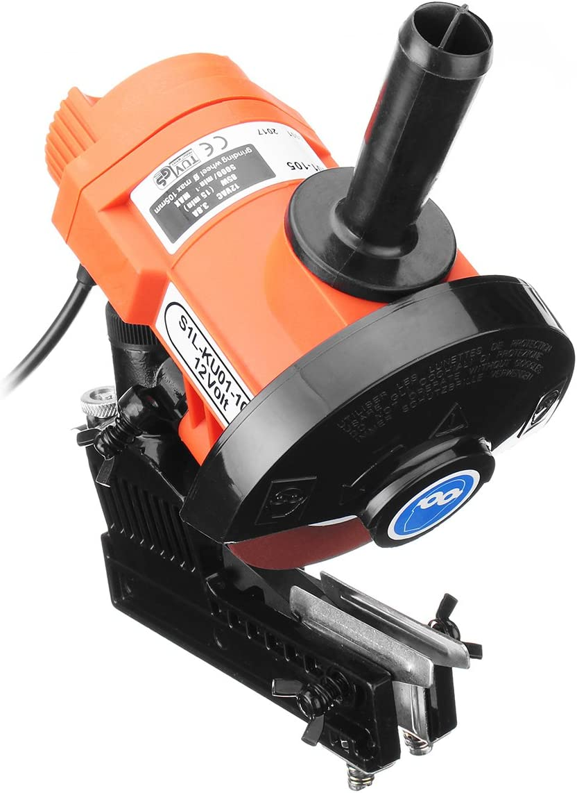 12V 85W 4500RPM Bar Mounted Electric Chainsaw Chain Saw Blade Grinder Sharpener