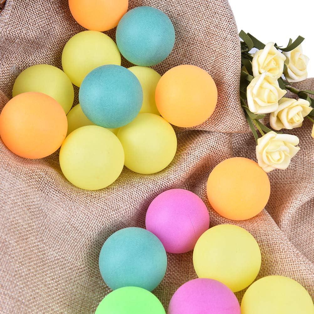 les travaux manuels la publicit/é les d/écorations Diyiming Lot de 50 balles de ping-pong de 45 mm color/ées de rechange pour entra/înement de ping-pong Id/éales pour les ornements Lavables