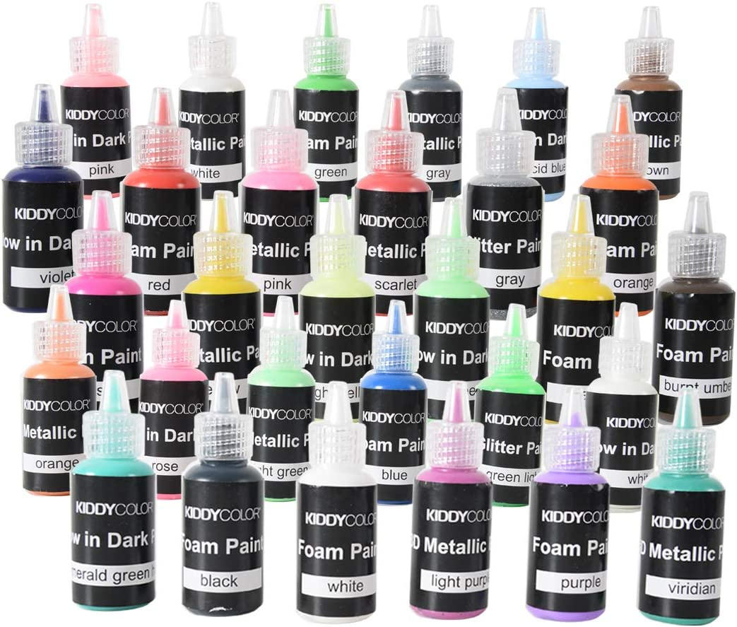 Pigmento para pintura de 40 colores de Kiddycolour, para hacer jabones, hacer velas, tinte de resina