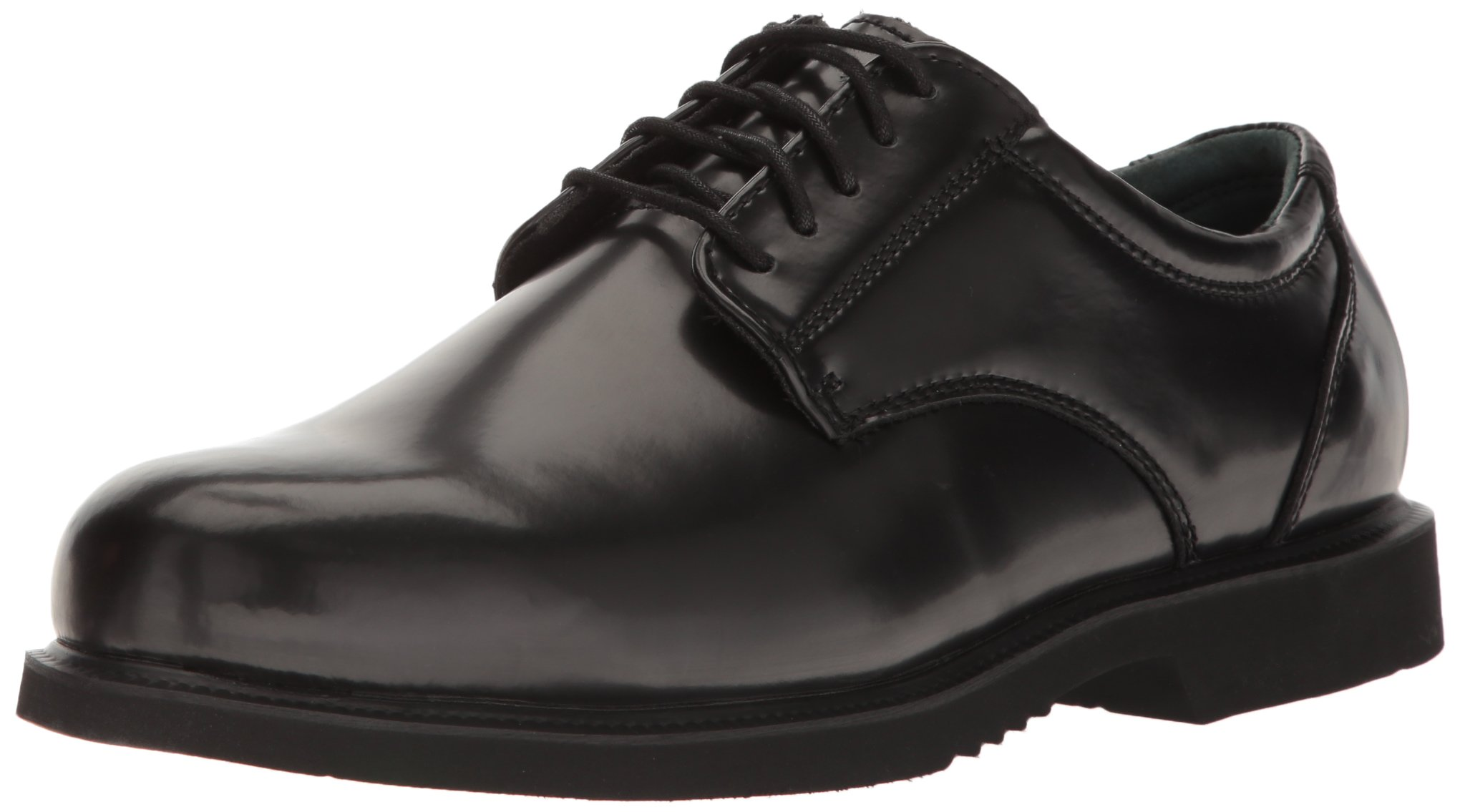 Thorogood Men's Academy Oxford,Black,12 W US