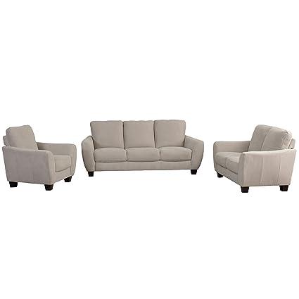 CorLiving LZY 261 Z1 Jazz Sofa Set, Beige