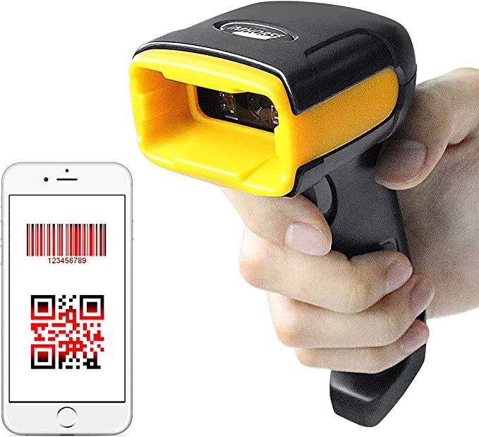 Barcode Scanner USB Wired Barcode Reader, 1D 2D: Amazon.co.uk: Electronics