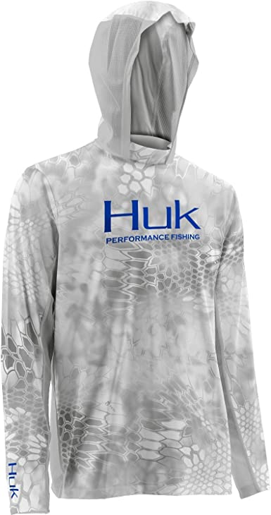 HUK ICON X HOODIE-Fishing Shirt--Pick Color//Size-Free Shipping