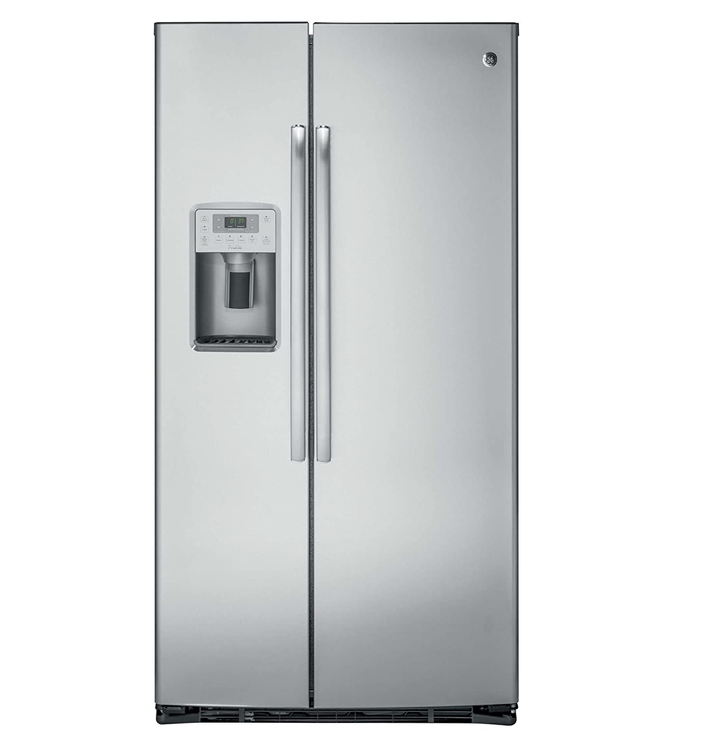 GE PZS22MSKSS Profile 22.1 Cu. Ft. Stainless Steel Side-By-Side Counter Depth Refrigerator