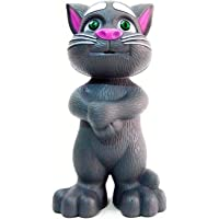 Wonder JHX140 Tom Tiny's World Intelligent Touching and Mimicry Talking Tom Cat with Wonderful Voice, White