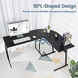 GreenForest L-Shaped Corner Desk Computer Gaming