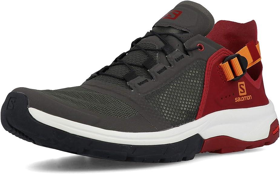 Salomon Schuhe Techamphibian 4 BelugaRusset Ora, Grey, 43 1 QKGtE